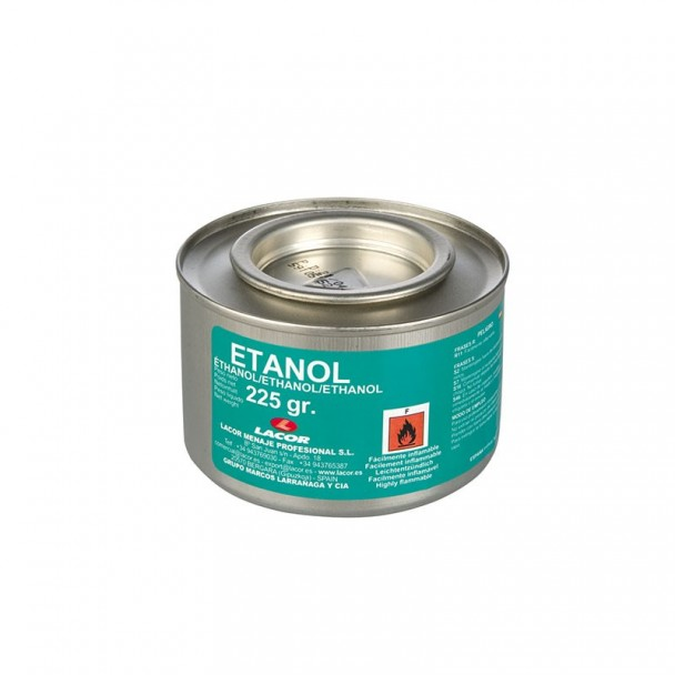 Tin 225 g de Gel de Carburant à l'Éthanol