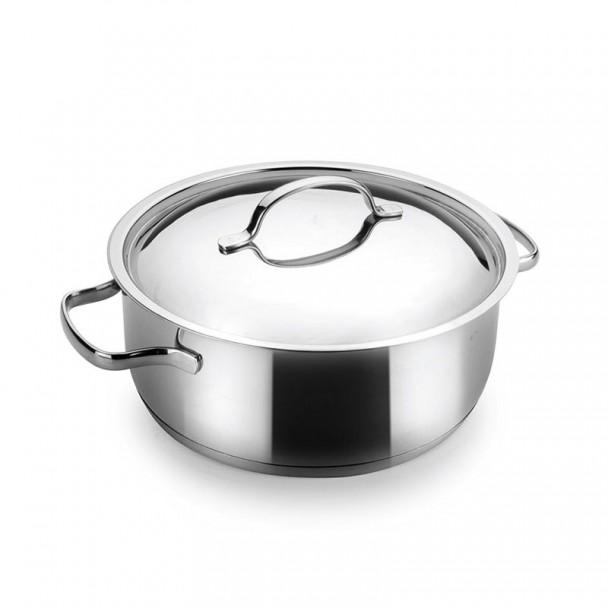 Plat de cuisson avec le Couvercle de Base