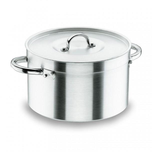 Casserole Haute avec Couvercle Chef-Aluminium