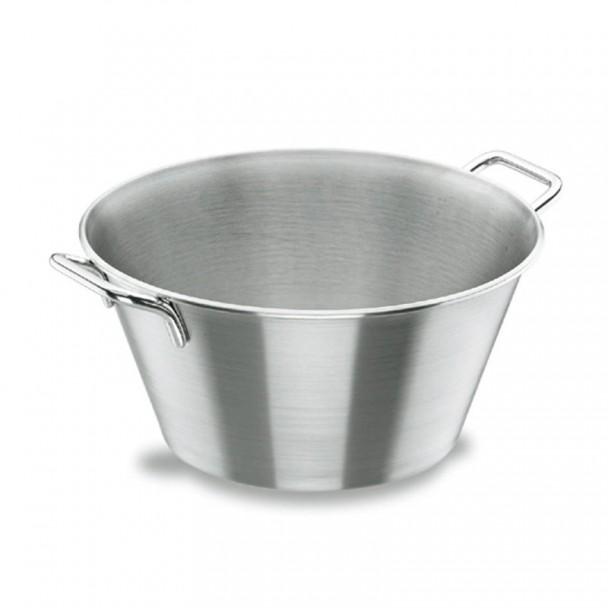 Vasque Conique avec Poignées en acier Inoxydable 18/10