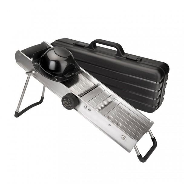 Mandoline en acier Inoxydable avec de la Garde et de la Rotation des Pales