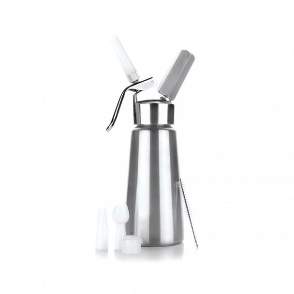Siphon À Crème En Inox + La Tête En Aluminium