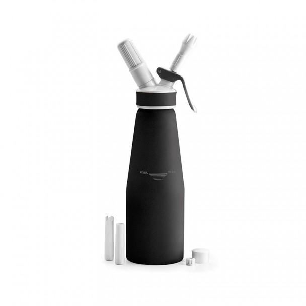 Bouteille Siphon À Crème En Aluminium Noir