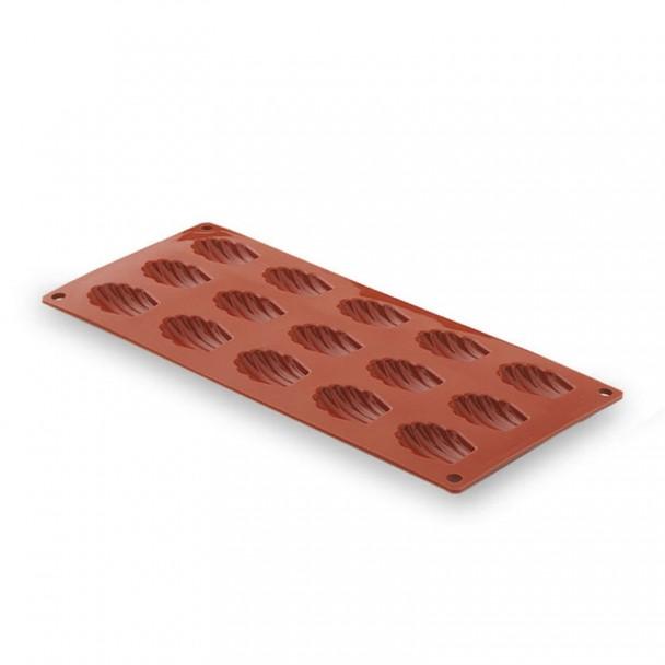 Moule À Madalena Petit 15 Cavités Silicone Pastryflex