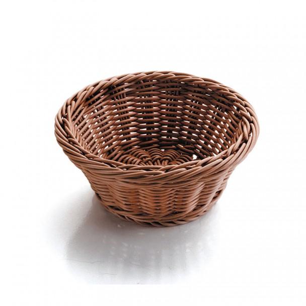 Corbeille à pain Ronde Brun