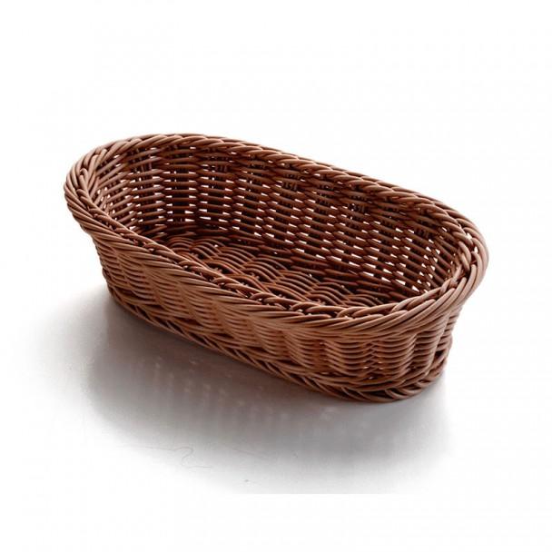 Corbeille à pain Ovale Brun