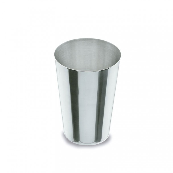En verre 30 cl d'acier Inoxydable