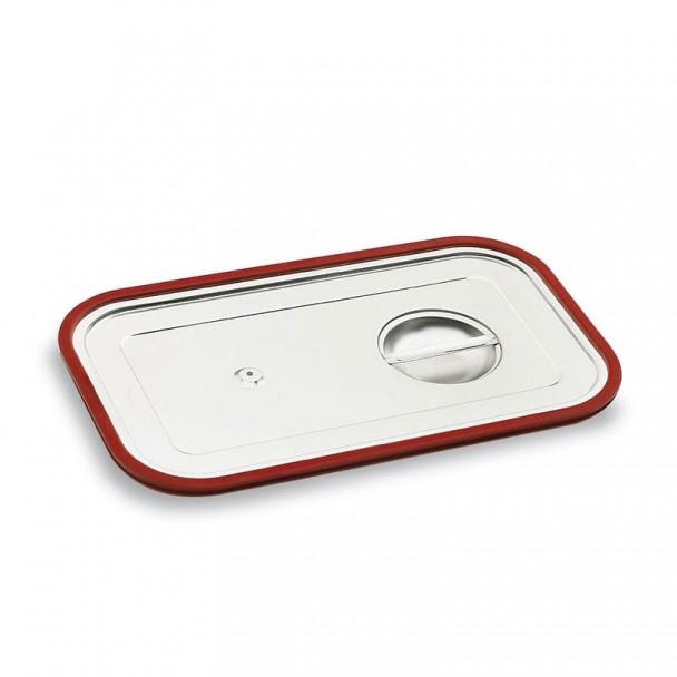 Couvercle Gastronorm en acier Inoxydable avec Joint en Silicone
