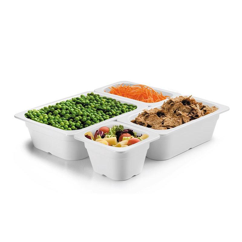 bac gastronorm 1 2 blanc de cuisine en m lamine. Black Bedroom Furniture Sets. Home Design Ideas