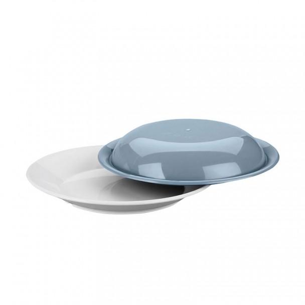 Plat de la plaque de Polycarbonate 22x3 cm avec Couvercle