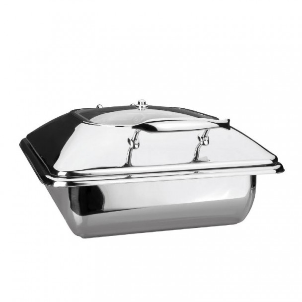 Corps Chafing Dish Luxe En Acier Inoxydable Gastronome 2/3