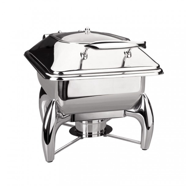 Chafing Dish Luxe En Acier Inoxydable Gastronorm 1/2